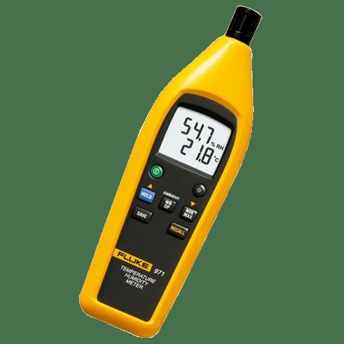 Medidor de humedad y temperatura