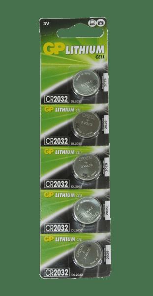 bateria GP lithium CR2032