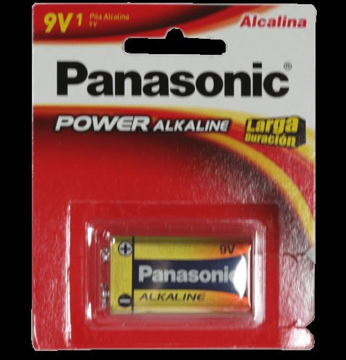 bateria alkalina panasonic 9V