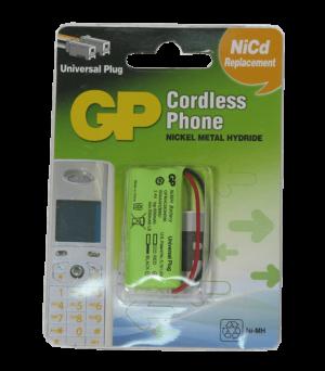 bateria pack 2,4V recargable GP L8
