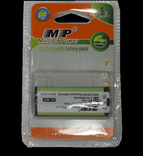 bateria pack 2,4V recargable MP-105