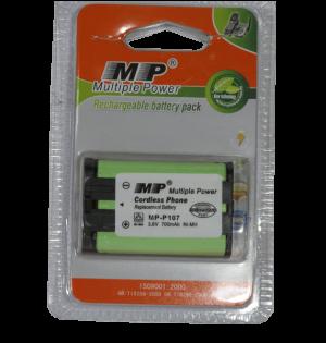bateria pack 3,6V recargable MP-107