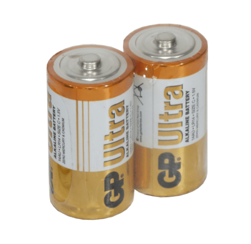baterias alkalinas GP tipo C