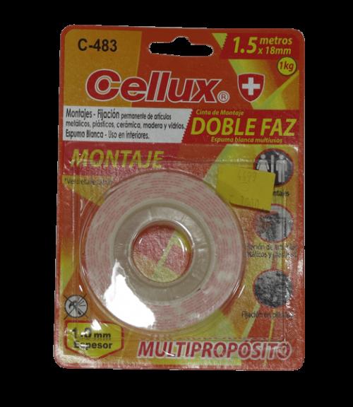 cinta doblefaz CELLUX