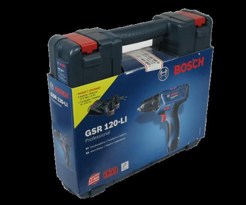taladro percutor atornillador bosch GSR 120LI
