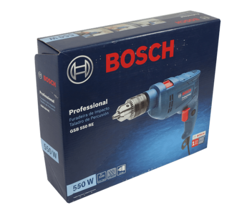 taladro percutor bosch GSB 550 RE