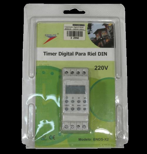temporizador digital 8 prog BNDS-X2