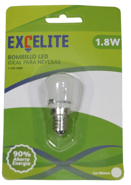 BOMBILLO LED nevera 1,8W EXCELITE