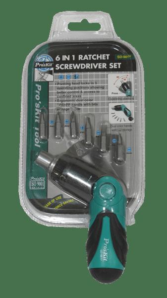 destornillador ratcher ProsKit SD-9817
