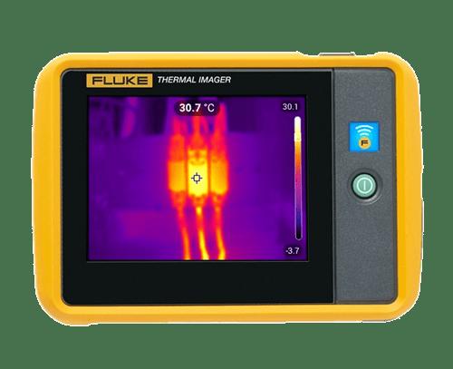 Fluke pti120 9hz camara termografica de bolsillo