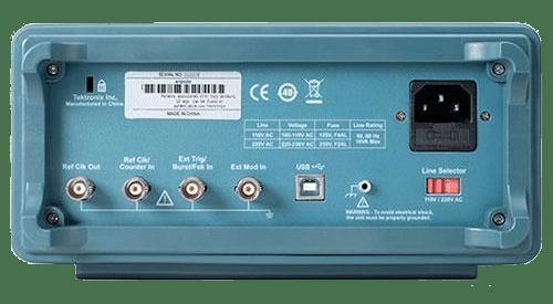 TEKTRONIX Generador de funciones AFG1022 posterior